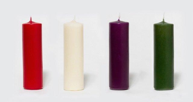 significado de las velas de adviento