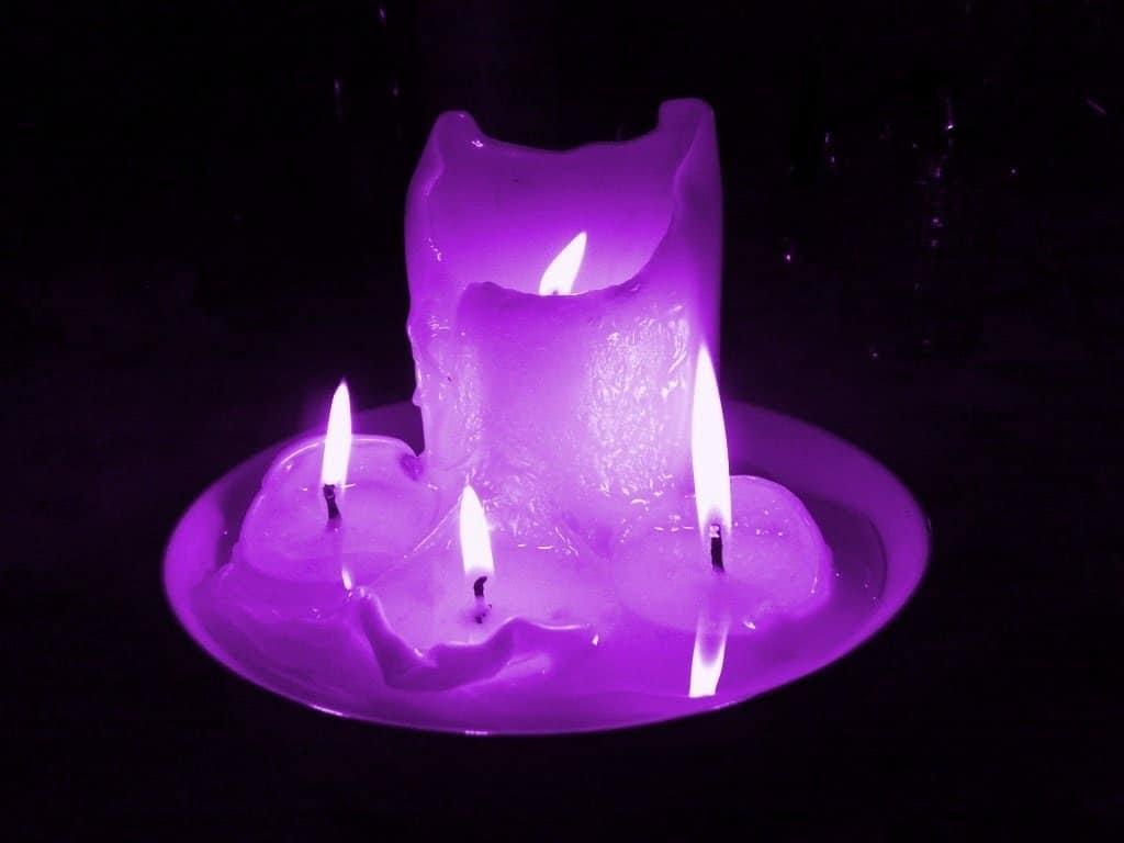 Significado de las VELAS MORADAS | Significado de las velas