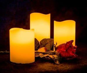 tipos de velas aromaticas