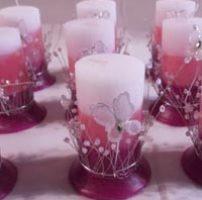 Como son las velas velas para 15 años
