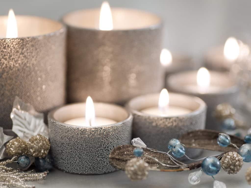 significado de las velas plateadas