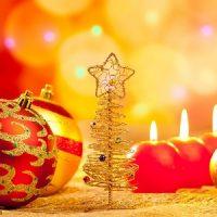 Las velas de navidad en HD