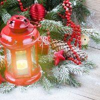 la vela de navidad en HD