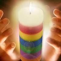 rituales con velas de 7 colores