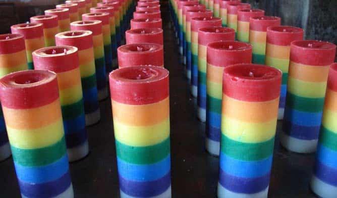 Rituales con velas de 7 colores significado de las velas - Velas de la suerte ...