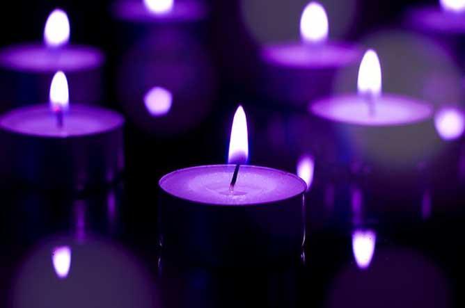 Todos los rituales velas moradas significado de las velas - Velas de la suerte ...