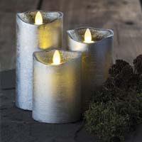 rituales con velas plateadas