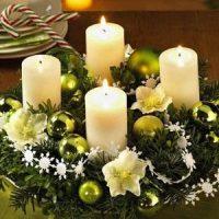 tipos de vela de navidad