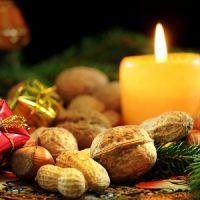 velas amarillas para decorar la navidad