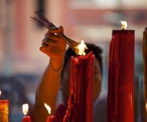 significado de las velas de fin de año